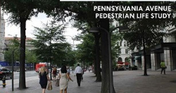 People on Pennsylvania Avenue Pedestrian Life Study