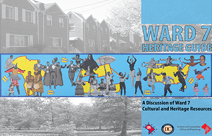 Cover Image of the Ward 7 Heritage Guide