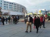 Image of people walking in Tenleytown