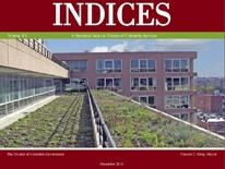 Image of cover of DC Data Reports Indices 2011