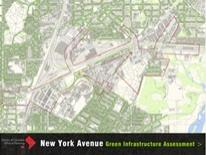 Image of cover of New York Avenue Green Infrastructure Assessment